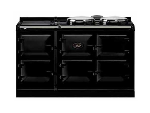 How Much Does Gas Cost >> Aga 5 Oven Dual Control Cooker in Black | Spillers of Chard