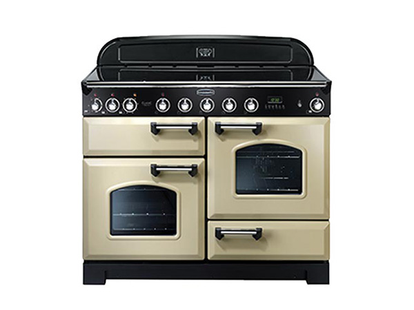 Rangemaster Classic Deluxe 110 Range Cooker in Cream