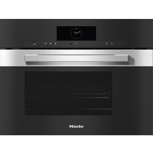 Miele DGM 7840 Clean Steel PureLine Steam Oven with Microwave