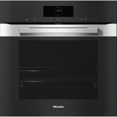 Miele H 7860 BP Clean Steel (Pureline) Single Oven