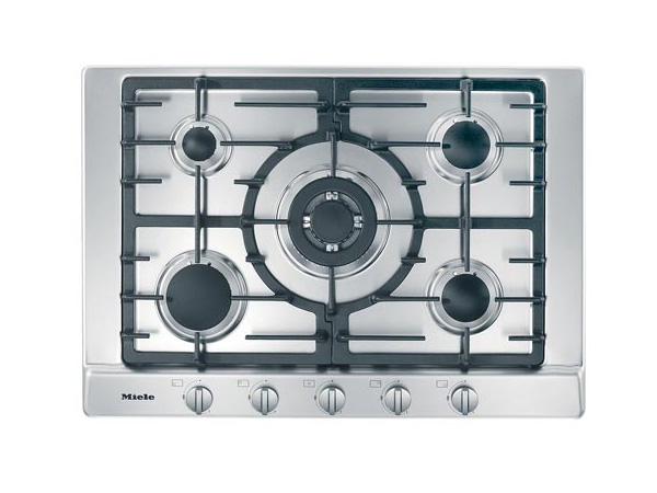 Miele KM2032 Gas Hob in Stainless Steel