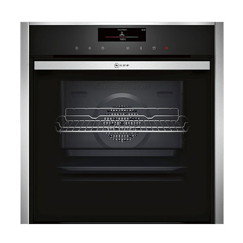 Neff-B48FT78N0B-Single-Oven-with-Fullsteam
