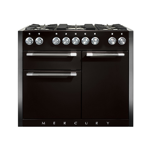Mercury 1082 Duel Fuel Range Cooker in Liquorice