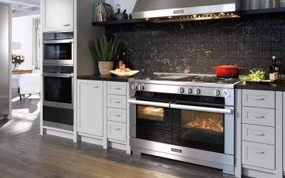 New Miele Range Cooker at Spillers of Chard