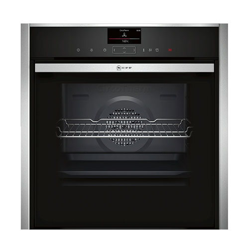 Neff B47FS34N0B Single Oven with Full Steam