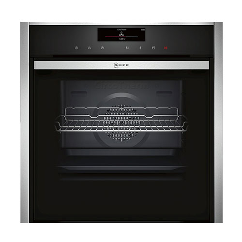 Neff B48FT78N0B Single Oven with Fullsteam