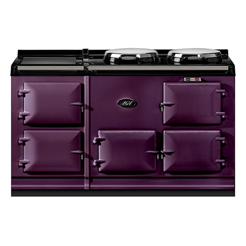 Aga Dual Control 5 Oven Cooker in Aubergine External Vent