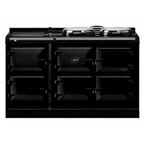 Aga 3 Oven Dual Control Gas Cooker with electric hob module