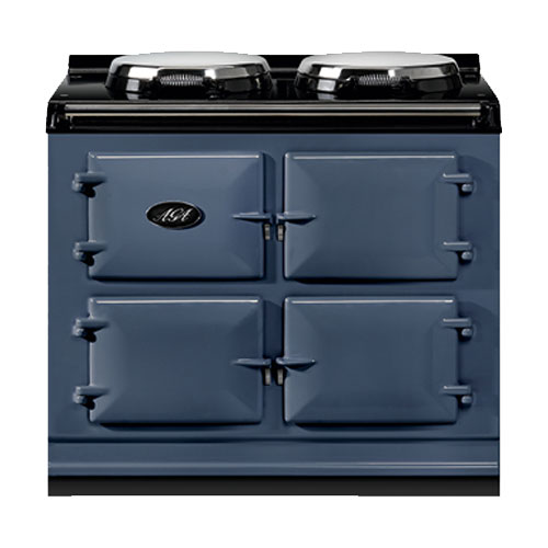 Aga 3 Oven Dual Control Gas Cooker in Dartmouth Blue (Room Vent)