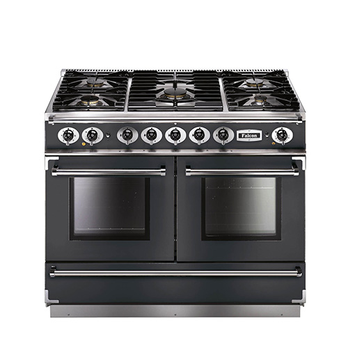Falcon 1092 Continental Dual Fuel Range Cooker in Slate