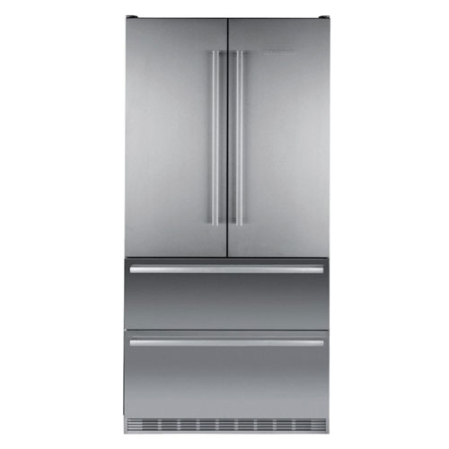 Liebherr CBNES6256 French Door Fridge Freezer in Stainless Steel