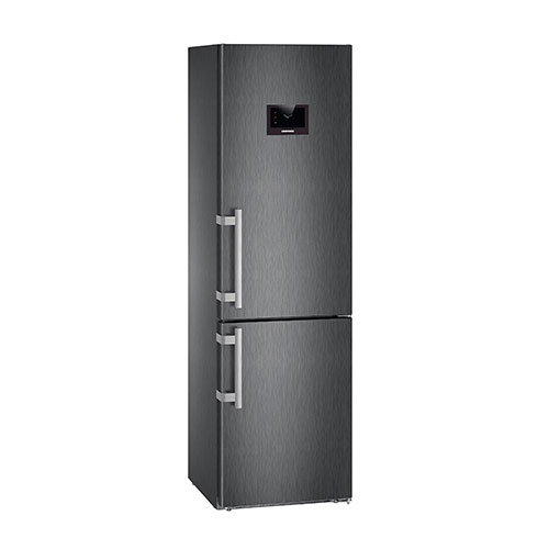 Liebherr CBNPBS4858 Fridge Freezer in Black Steel