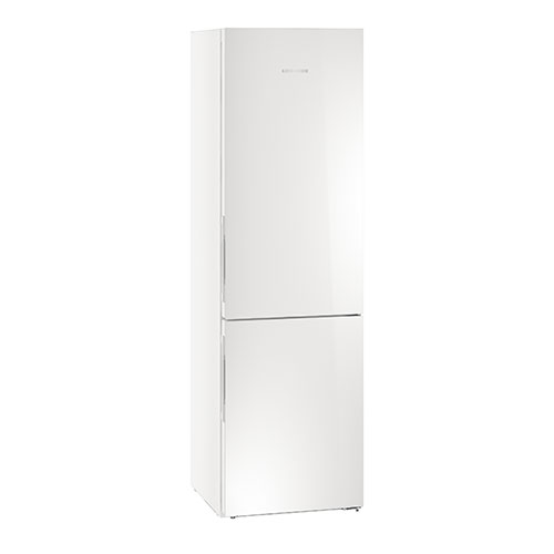 Liebherr CBNPGW4855 Fridge Freezer in White Glass