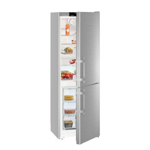 Liebherr CNEF3515 Fridge Freezer in Stainless Steel