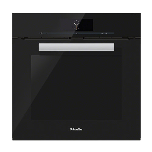 Miele H6860BP M Touch Pureline Single Oven in Obsidian Black