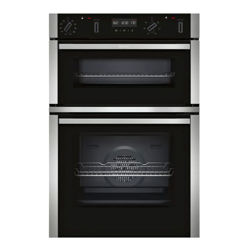 Neff U2ACM7HN0B Built in Double Oven