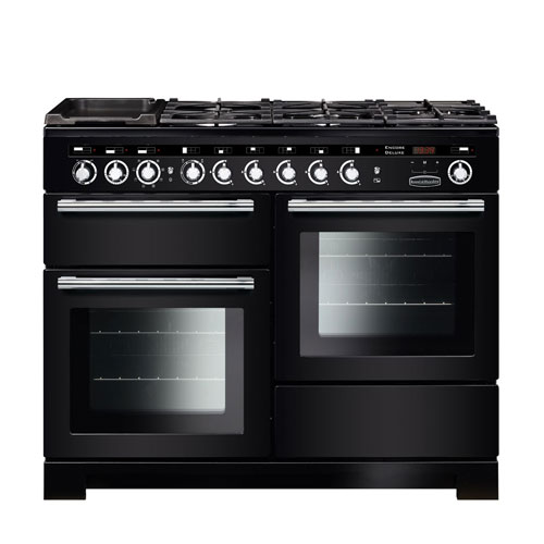Rangemaster Encore 110 Induction Range Cooker in Black