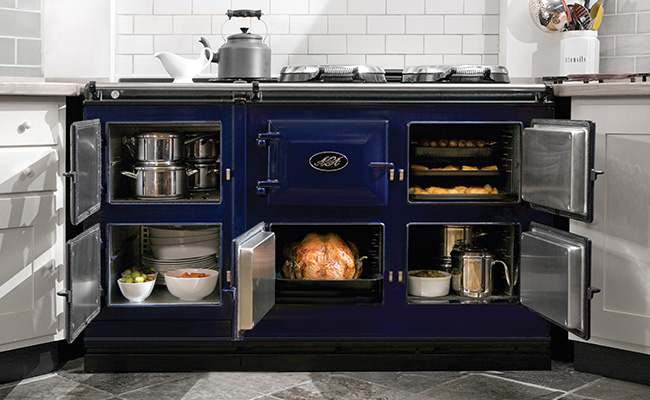 AGA DC5 GAS DARK BLUE