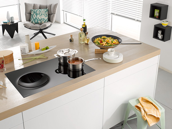 Miele KM6356 80cm Induction with wok