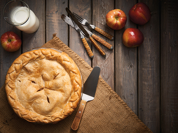 Steam Cooked Apple pie