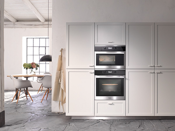 miele H6360BP contourline single oven and combi steam lifestyle med res