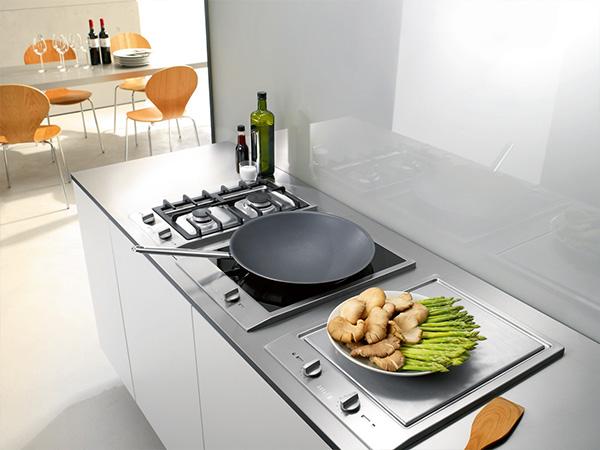 miele domino induction wok teppan gas