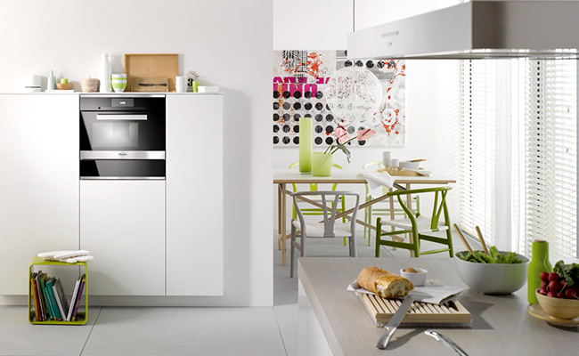 miele pureline steam oven DG6600 lifestyle med res