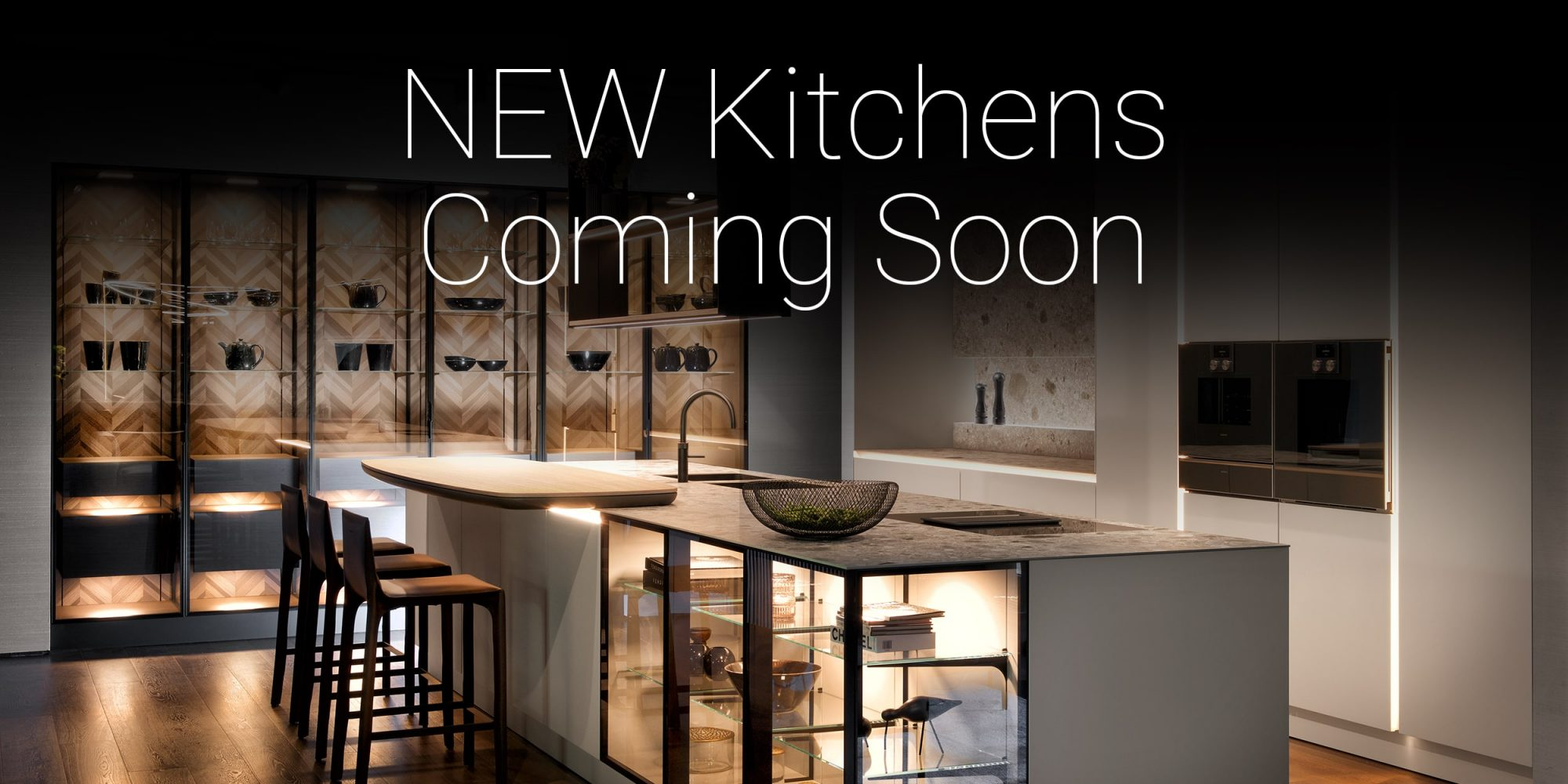 New Showroom Kitchen Displays