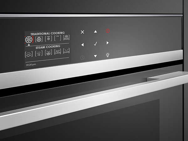 Compact Steam Combination Oven close up