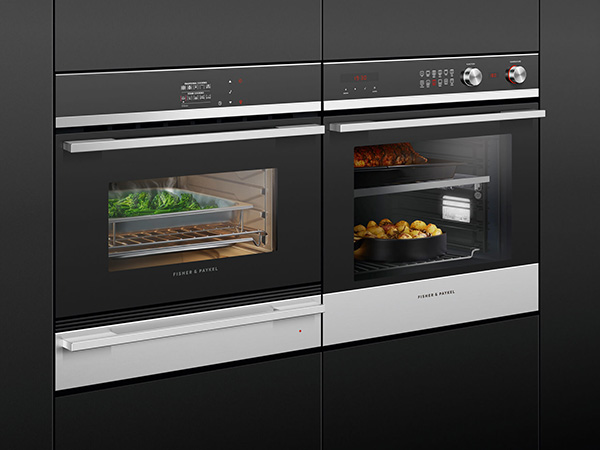 Compact Steam Combination Oven with veg