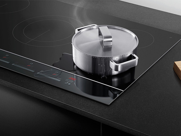 Fisher & Paykel Induction Hob with vegetables