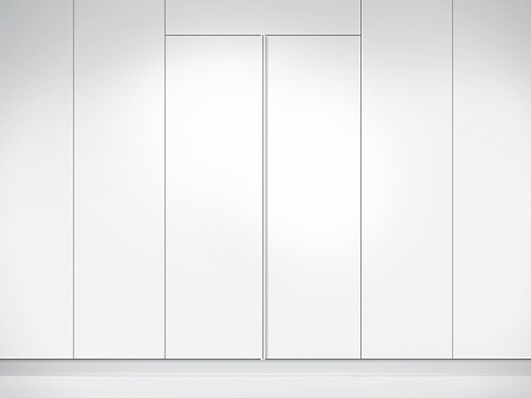 Fisher & Paykel Integrated Column Freezer closed