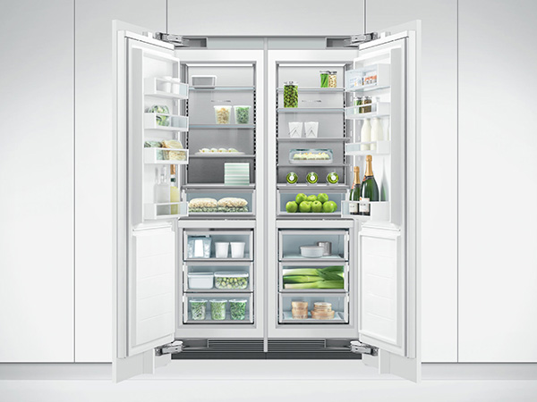 Fisher & Paykel Integrated Column Refrigerator close up
