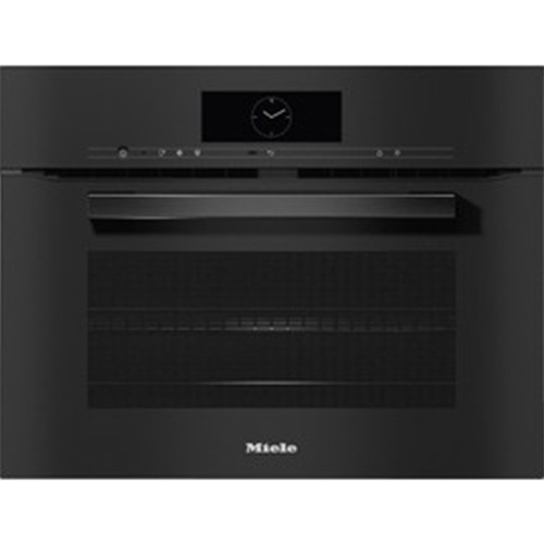 Miele H 7840 BM Obsidian Black VitroLine Microwave Combination