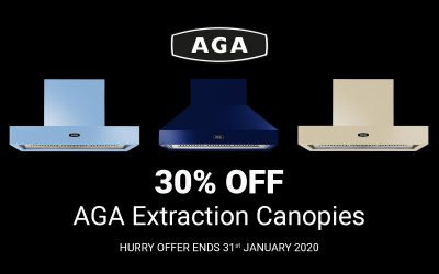 30% OFF AGA Extraction Canopies