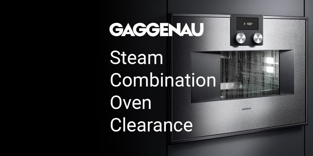 Gagggenau Steam Oven Sale
