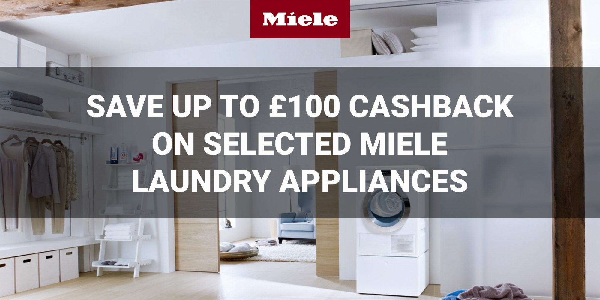Miele Laundry Cashback Deal