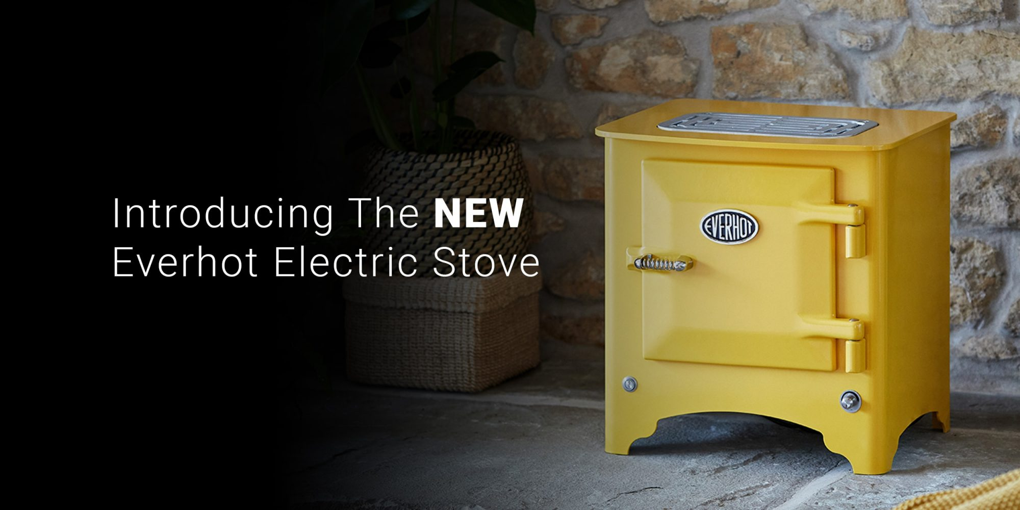 The NEW Everhot Electric Stove