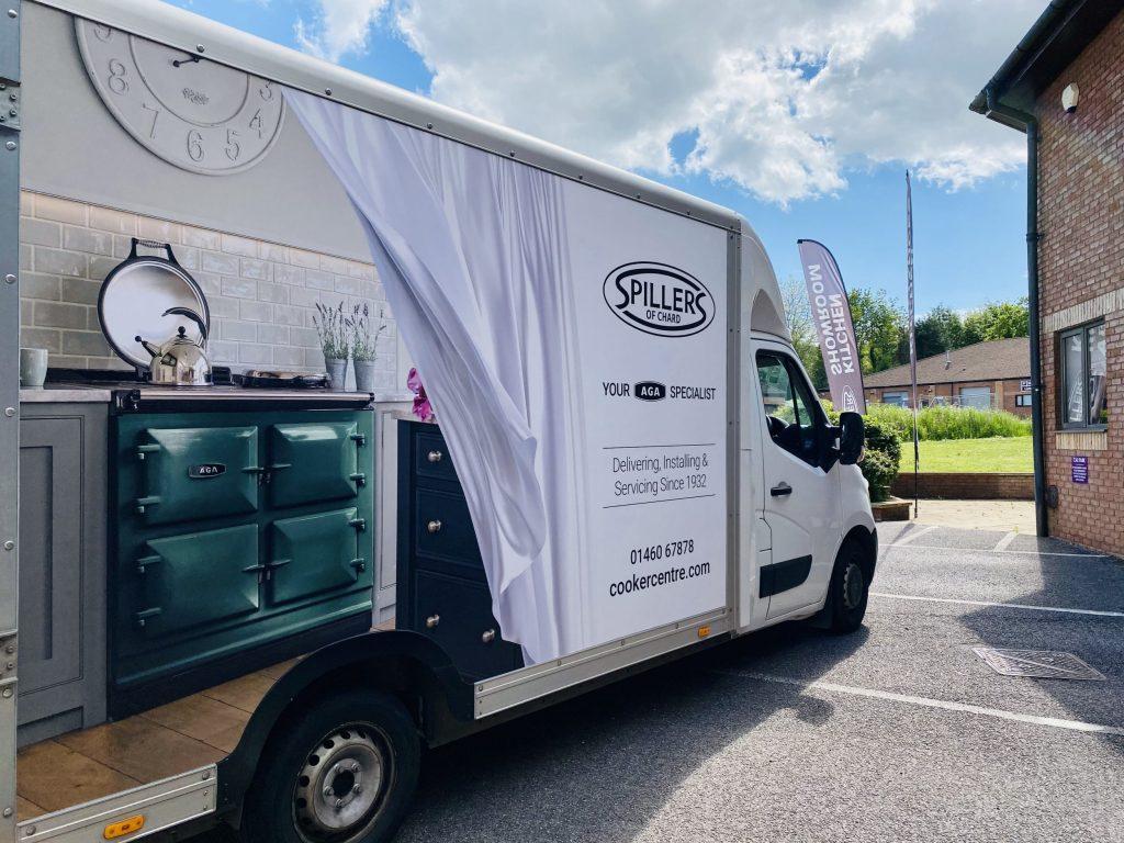 Spillers Delivery Vans